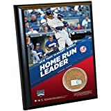 MLB New York Yankees Aaron Judge Record 30Th Rookie Hr 4 x 6 Plaque with Game Used Yankee Stadium Dirt