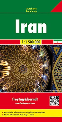 Download By Freytag & Berndt Iran (English, Spanish, French, Italian and German Edition) [Map] PDF