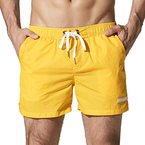 Yellow Athletic Shorts - 9