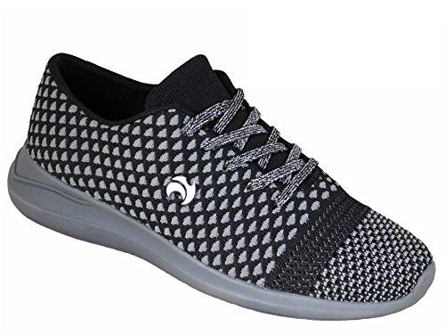 Ladies Henselite HL72 Ultra-Lightweight Lawn Bowling Shoes Grey llJhG7o6r