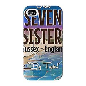 Seven Sisters Full Wrap High Quality 3D Printed Case for iPhone 4 / 4s by Nick Greenaway + FREE Crystal Clear Screen Protector