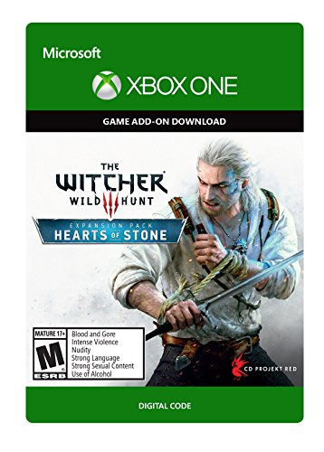the witcher 3 wild hunt hearts of stone xbox one digital code. Black Bedroom Furniture Sets. Home Design Ideas