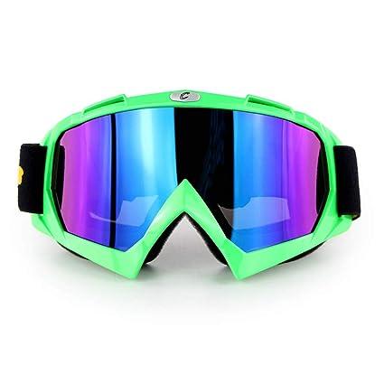 Motocicleta Ciclismo Racing Gafas Gafas Off Road Anti Niebla ...