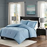 What Are the Dimensions of a Cal King Bed Comforter-Set 3-piece Home Bedding For Bedroom Furniture Includes Comforter, Pillow Shams. Contemporary, Versatile Design Linens Kit With Diamond Quilted & Flange Decor. (King/Cal King, Blue)