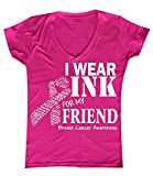 Best P&B Friend Shirts Womens - P&B I Wear for My Friend Breast Cancer Review