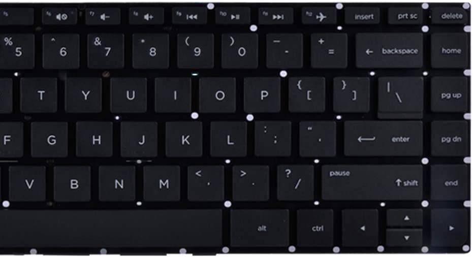 Eathtek Replacement Keyboard Without Frame for HP 14-Q 14-AC 14-AC000 14-AF000 14G-ad000 14Q-aj000 14-AC100 14-AC600 14-AF100 14G-AD100 14Q-AJ100 6K.NC901.001 6037B0112801 Series Black US Layout