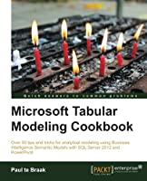 Microsoft Tabular Modeling Cookbook Front Cover