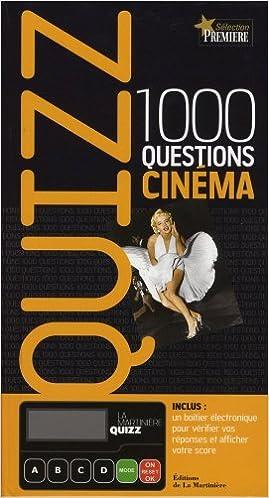 Lire un Quizz 1000 questions cinéma pdf epub