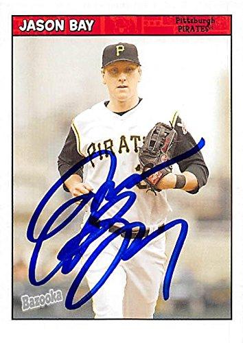 Jason Bay autographed Baseball Card (Pittsburgh Pirates, SC) 2006 Topps Bazooka #148 - Baseball Slabbed Autographed Cards