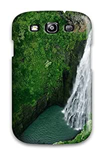 Hot 9488367K76151764 Tpu Phone Case With Fashionable Look For Galaxy S3 - Earth Waterfall