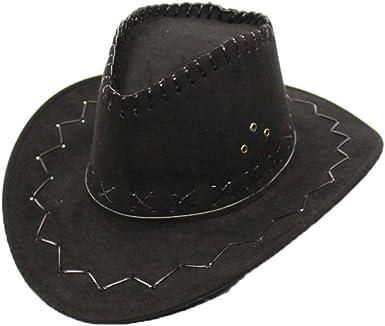 SANOMY Unisex Wide Brim Cowboy Hats