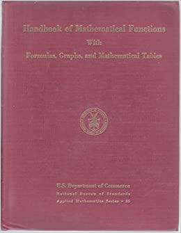 handbook of mathematical functions with formulas graphs. Black Bedroom Furniture Sets. Home Design Ideas