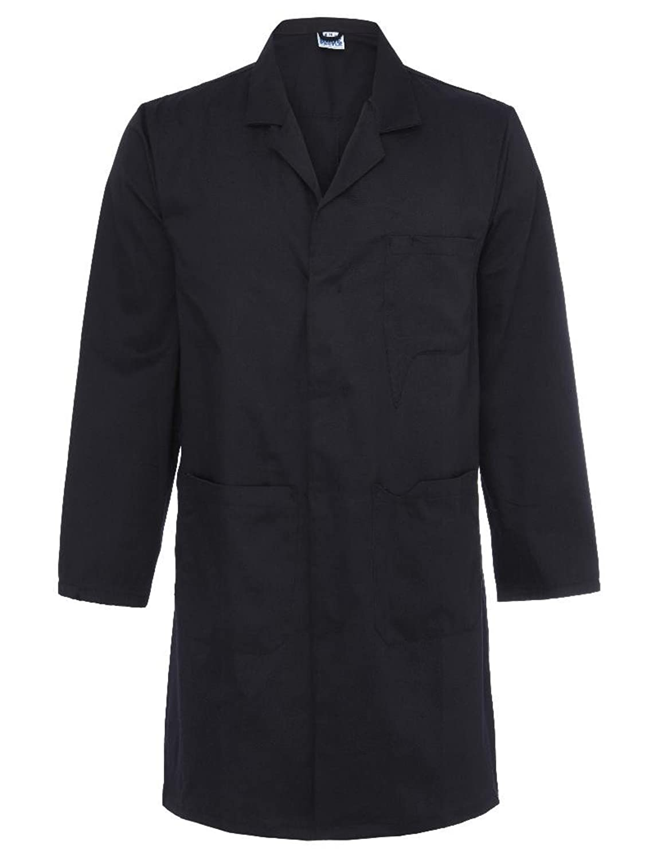 AX Mens Lab Coat Brown: Amazon.co.uk: Clothing