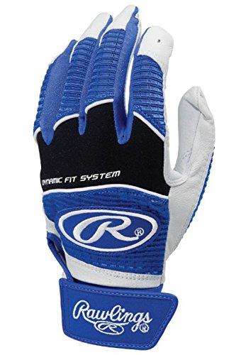 Rawlings Workhorse 950 Series Adult Batting Gloves,Royal ,Large