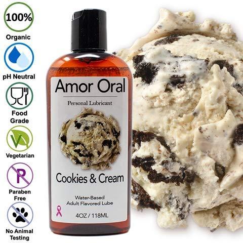 Amazon.com: Lubricante personal con sabor a crema y galletas ...