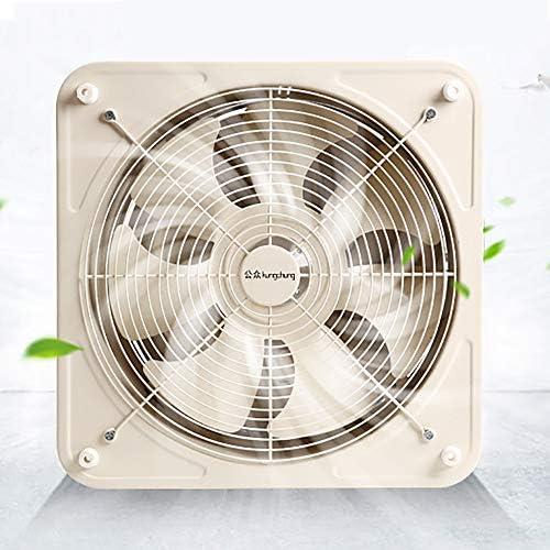 Extractor de aire de pared, extractor de aire potente. Ventilador Extractor de baño, Ventilador extractor de pared silencioso, 6 pulgadas 35w Ventilador de ...