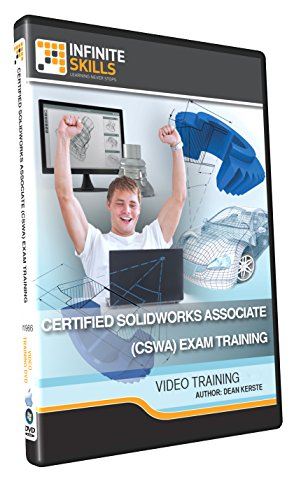 Certified SolidWorks Associate (CSWA) Exam - Training DVD