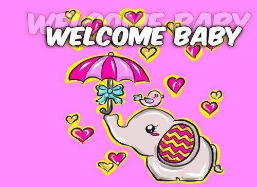 Welcome Baby: Baby Shower Guest Book to Welcome Baby, Share Wishes and Give Advice to New Parents - Elephant Heart (Welcome Baby Guest Books) (Volume 3) -