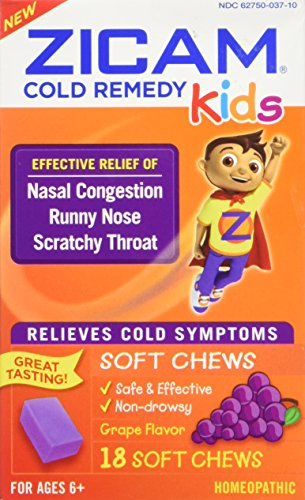ZICAM Kids Cold Remedy Relief, 18 Count ()