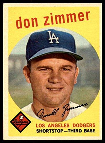 Baseball MLB 1959 Topps #287 Don Zimmer EX/NM Dodgers