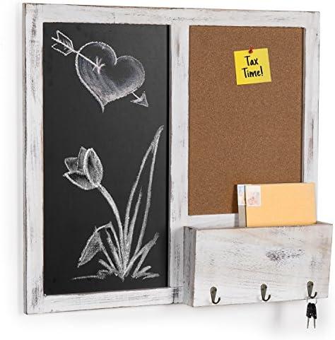 MyGift Mounted Chalkboard Board Sorter product image