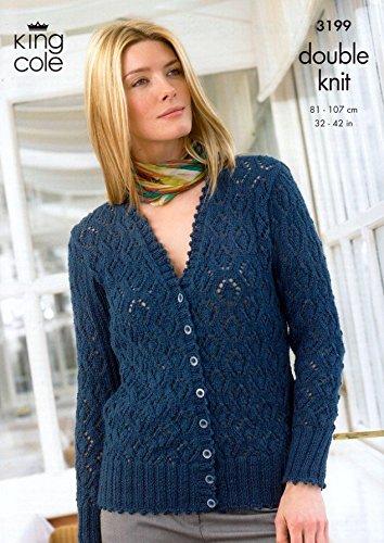 Amazon King Cole Ladies Sweater Vest Top Cardigan Baby