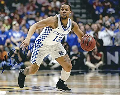Autographed Isaiah Briscoe 8x10 Kentucky Wildcats Photo