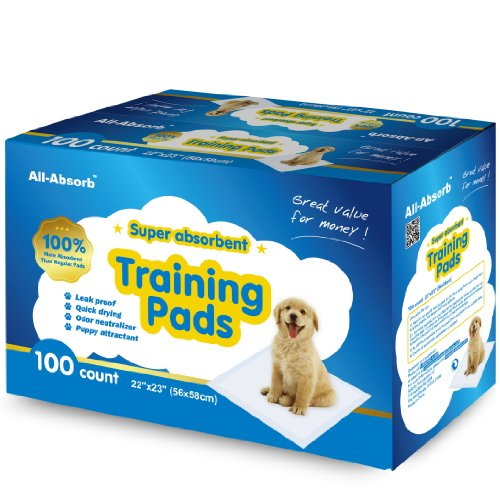 All-absorb Training Pads 100-count 22-inch By 23-inch