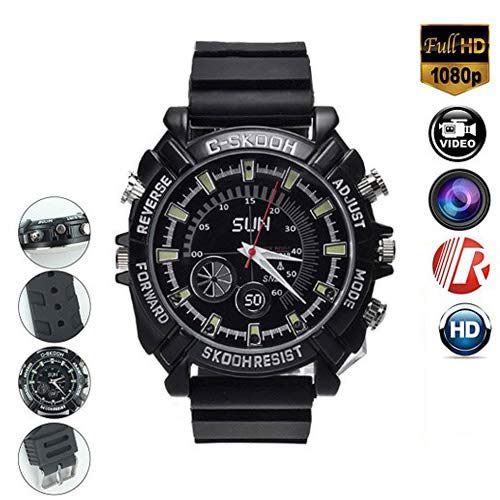 Hd Water Resistant Wrist Watch Camera - 4