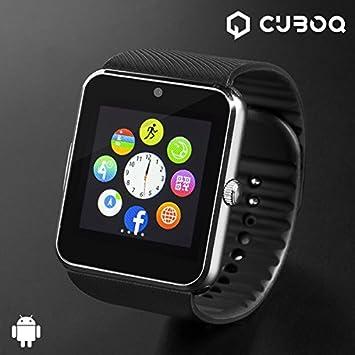 qtimber Smartwatch CuboQ Titanium #manufacturer # 10 x 8 x 10 cm ...