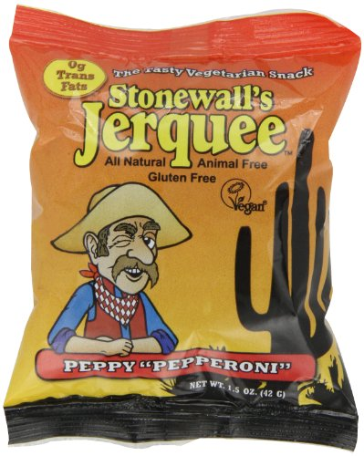 Stonewall's Jerquee Peppy Pepperoni, 1.5-Ounce Packets (P...