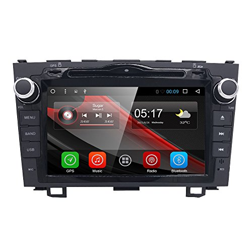 8 inch Android 8.1 Car GPS DVD Player for Honda CRV CR-V 2007 2008 2009 2010 2011 Support Bluetooth 4.0 Easy Connect Mirroring WiFi - Crv Radio