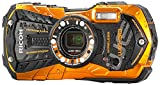 Ricoh WG-30w flame orange Digital Camera with 2.7-Inch LCD (Flame Orange)