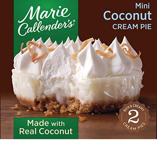 Coconut Custard Pie - Marie Callender's Frozen Mini Pie Dessert, 2 Mini Coconut Cream Pies, 7.5 Ounce
