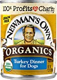 Newman's Own Organics Grain Free Turkey Dinner for Dogs, 12.7-oz (Pack of 12)