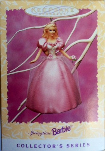 Hallmark Keepsake Ornament 1996 Springtime Barbie Ornament #2 Collector's Series