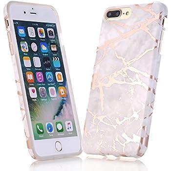 shiny marble phone case iphone 8 plus