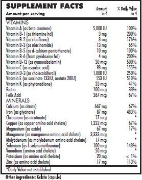 Vita4life, Bariatric Multivitamins, Multi-Plus Formula – 720 Count