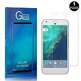 Google Pixel Screen Protector, Bear Village® Premium Tempered Glass Screen Protector, Scratch Resistant HD Screen Protector Film for Google Pixel - 1 PACK