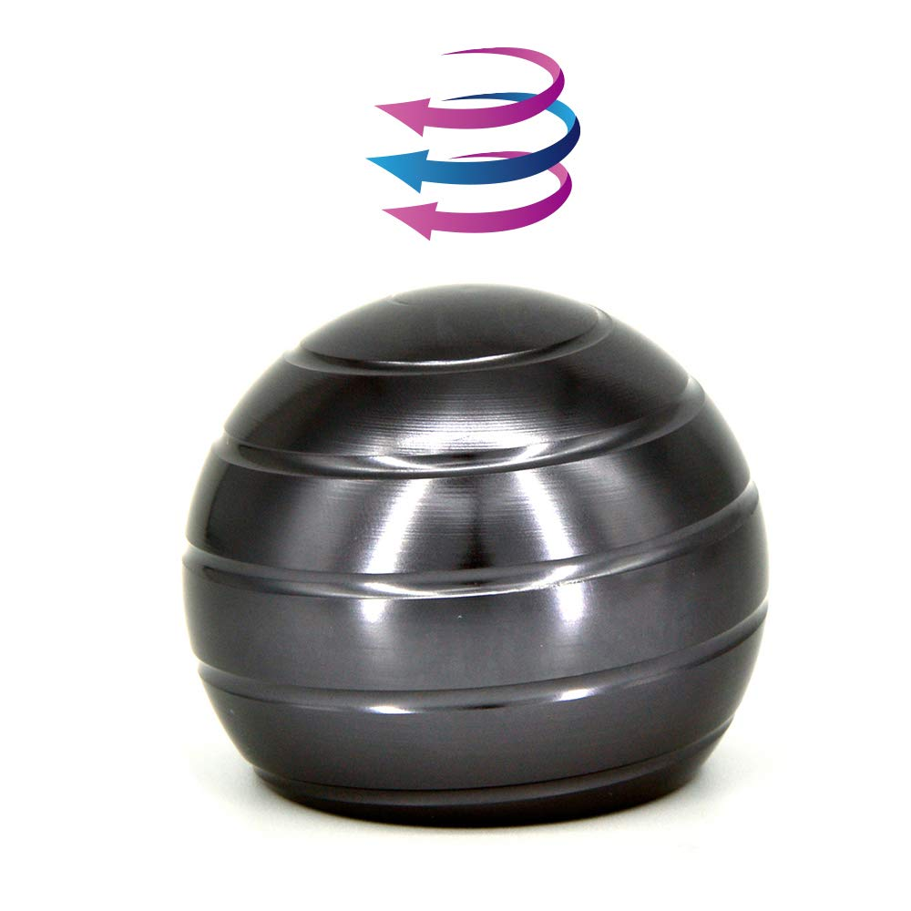 DWEKE Kinetic Spinning Desk Toy That Creates a Mind-Bending Optical Illusion of Continuously Flowing Top Adult & Kids Pressure Reduction Toys Gifts.