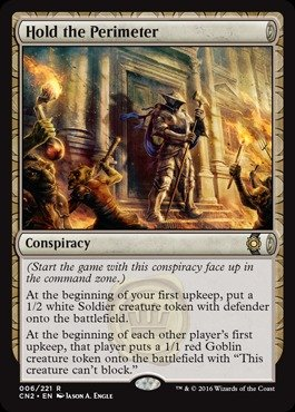 Magic: the Gathering - Hold the Perimeter (006/221) - Conspiracy 2: Take the - Stores Perimeter