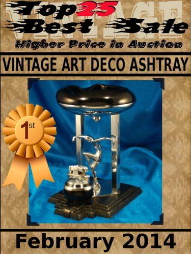 (Top25 Best Sale - Higher Price in Auction - Vintage ART DECO Ashtray - February 2014)