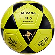 Bola de Futevôlei FT-5 Amarela e Preta Mikasa