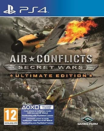 f6dada807cc4 Air Conflicts Secret Wars Ultimate Edition (PS4)  Amazon.co.uk  PC   Video  Games