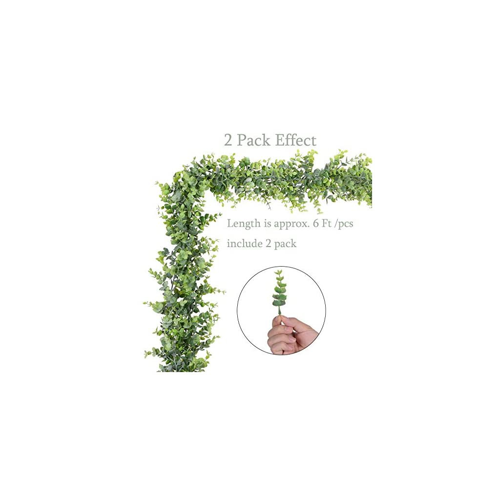 Artiflr-4-Pack-Artificial-Wall-Hanging-Plants-Artificial-Ivy-Fake-Hanging-Vine-Plants-Decor-Plastic-Greenery-for-Home-Wall-Indoor-Outdside