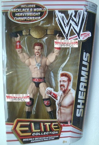 Mattel WWE Series 17 Elite Collector Sheamus Figur