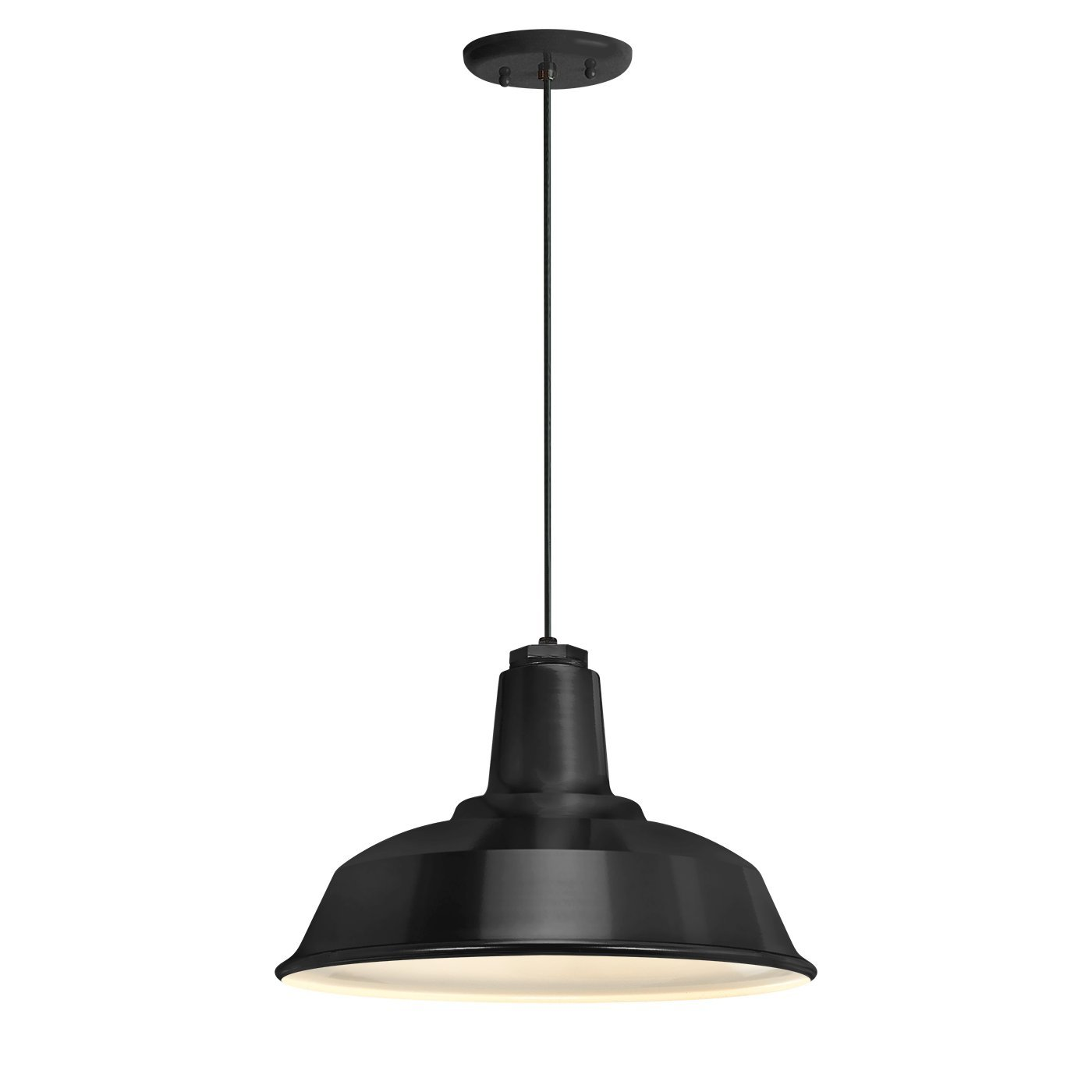 Troy RLM 5DRH14MBK-BC Heavy Duty Outdoor Pendant, Black by Troy RLM