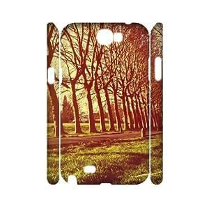 Ecaseshop Samsung Galaxy Note 2 N7100 case Beautiful scenery,Customized Hard 3D Case XB218784