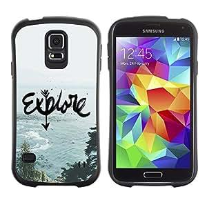 Suave TPU GEL Carcasa Funda Silicona Blando Estuche Caso de protección (para) Samsung Galaxy S5 / CECELL Phone case / / Travel Nature Ocean Sea Summer /
