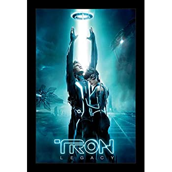 amazon com tron legacy movie poster 2 sided original final 27x40